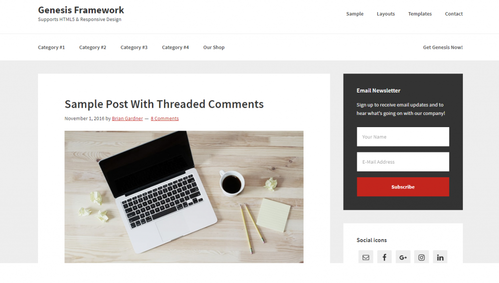 A screenshot of Headway - WordPress Theme Frameworks